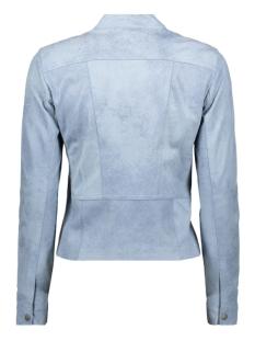 bikerjasje met ronde hals 25001568 sandwich jas 41036 ashley blue