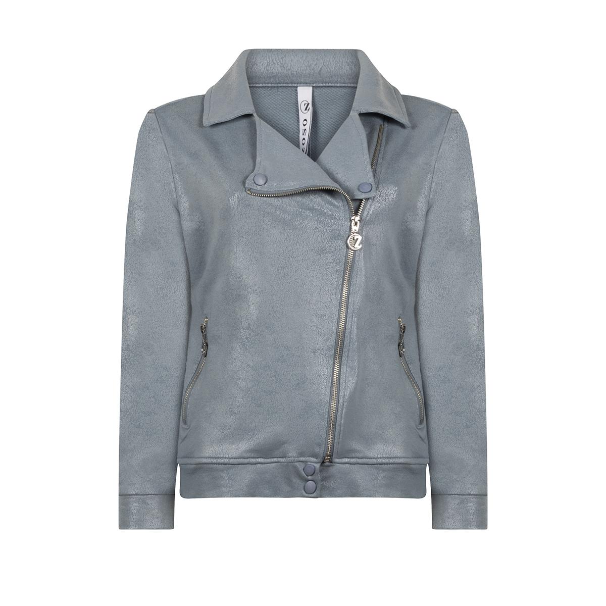 biker jacket 202 zoso jas blue