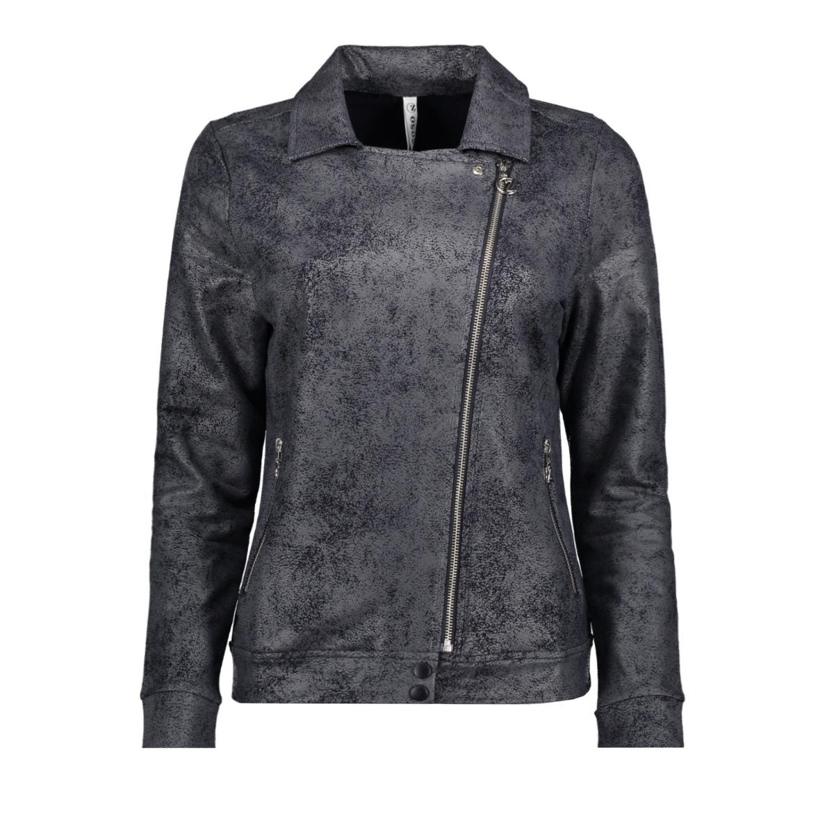 biker jacket 202 zoso jas navy