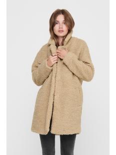 onlaurelia sherpa coat otw 15209080 only jas cuban sand