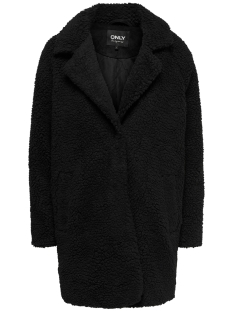 Only Jas ONLAURELIA SHERPA COAT OTW 15209080 Black