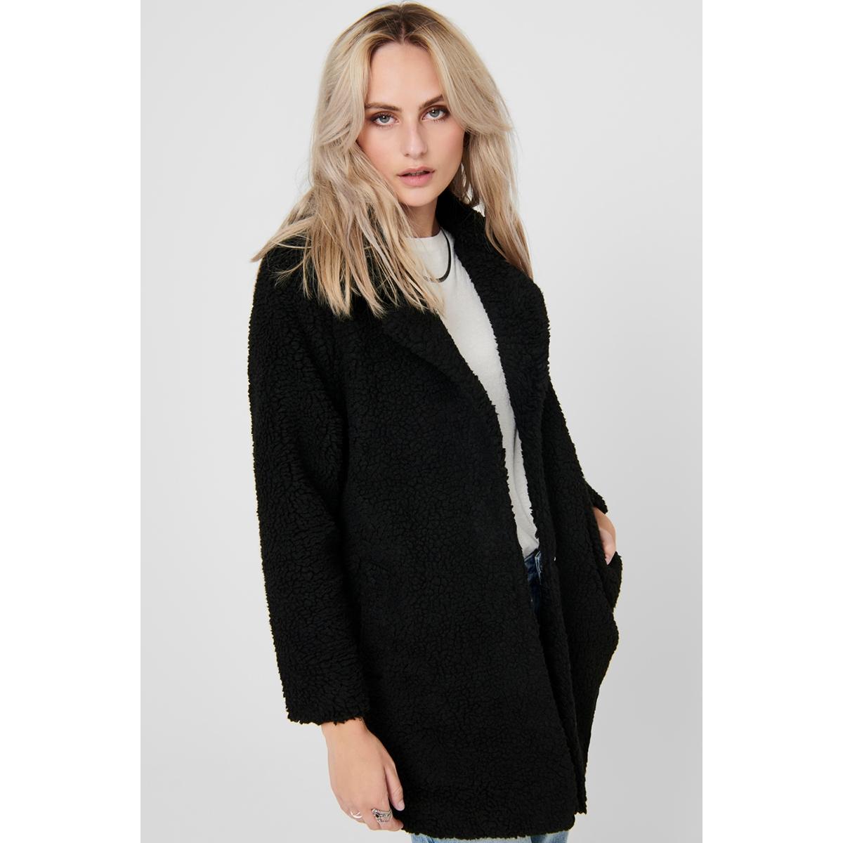 onlaurelia sherpa coat otw 15209080 only jas black