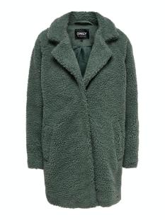 Only Jas ONLAURELIA SHERPA COAT OTW 15209080 Balsam Green