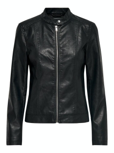 Jacqueline de Yong Jas JDYSTORMY FAUX LEATHER JACKET OTW N 15207865 black