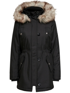Only Jas ONLIRIS FUR WINTER PARKA CC OTW 15213755 Black