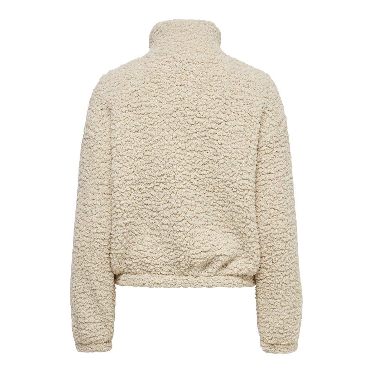 jdynakima teddy jacket otw qiq 15198807 jacqueline de yong vest oatmeal
