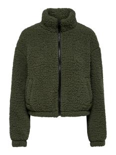 jdynakima teddy jacket otw qiq 15198807 jacqueline de yong vest forest night