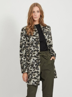 Vila Jas VICAMO WOOL COAT/SU 14058201 Forest Night