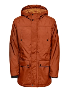 Only & Sons Jas ONSPETER TECHINCAL PARKA OTW NOOS 22016875 Bombay Brown