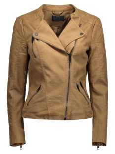 onlAva Faux Leather Biker 15102997 cognac