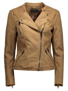 Only Jas onlAva Faux Leather Biker 15102997 cognac