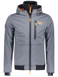 Superdry Jas M20004LNF1 TOTAL ECLIPS MARL ORANGE