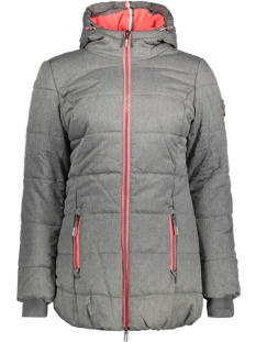 Superdry Jas G50004LN TALL PUFFER Grey Marl