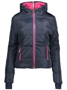 g50010lnf3 sports puffer superdry jas navy