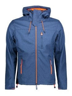 Superdry Jas M50000ZOF4 WINDTREKKER CTL NAVY ORANGE