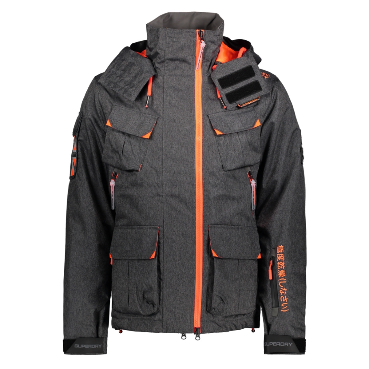 m50000wpds ultimate snow jacket superdry sport jas nkm black