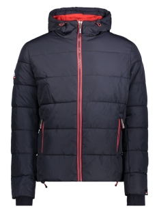 Superdry Jas M50006CR NAVY/BRIGHT RED