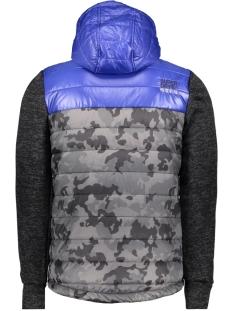 m20016ar superdry jas black heather/cobalt zo3
