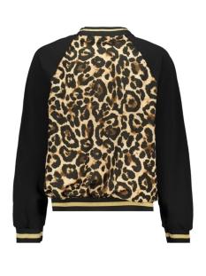 8332 julia bomber luba jas leopard print