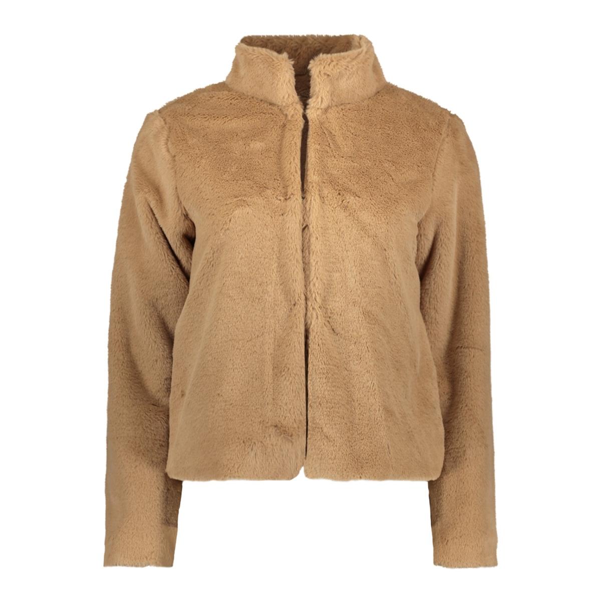 fake fur jacket iz naiz jas sand