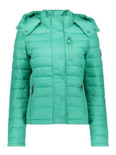 Superdry Jas G50004LR FUJI SLIM DOUBLE ZIPHOOD MINT MARL