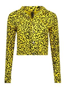 IZ NAIZ Jas JACKET LEOPARD 3390 YELLOW