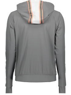 britt travel jacket 192 zoso jas grey/salmon