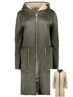 Goosecraft Jas ADELYN COAT 101931020 MILITARY GREEN WHIT OFF WHITE