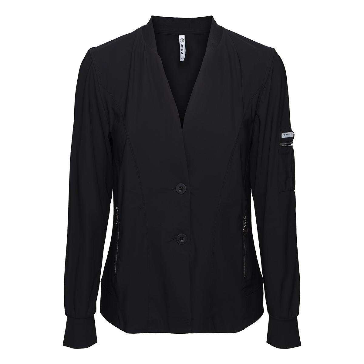 daisy 194 travel jacket zoso blazer black