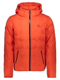 Superdry Jas NEW ECHO QUILT PUFFER M5000066A VOLCANIC LAVA ORANGE