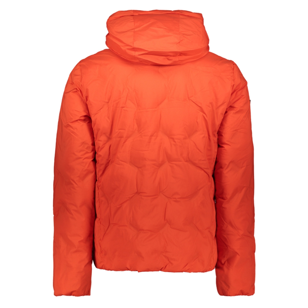 new echo quilt puffer m5000066a superdry jas volcanic lava orange
