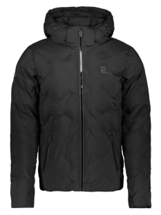 Superdry Jas NEW ECHO QUILT PUFFER M5000066A JET BLACK