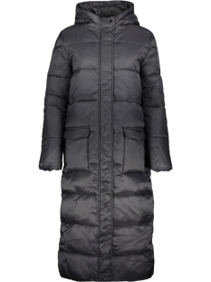 Saint Tropez Jas LONG PADDED JACKET R7022 BLACK