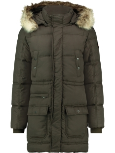 Haze & Finn Jas JACKET EXPLORER MU12 1008 ARMY GREEN