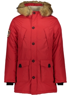 everest parka m5000040a superdry jas deep berry