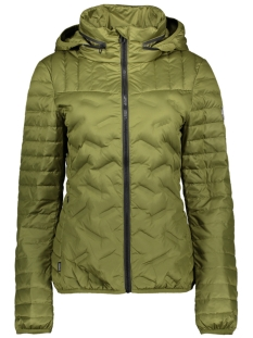 Superdry Jas LS ESSENTIALS RADAR DOWN JACKET W5010055A CAPULET OLIVE