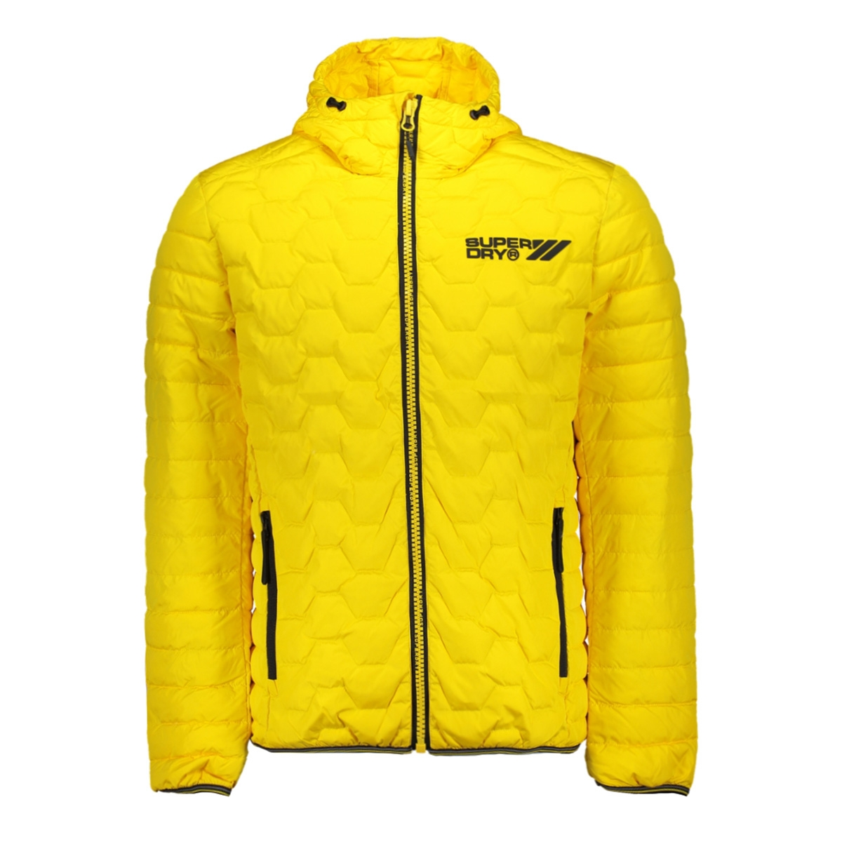 hex mix down jacket m50203du superdry jas yellow
