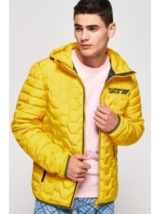 Superdry Jas HEX MIX DOWN JACKET M50203DU YELLOW