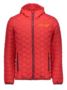 Superdry Jas HEX MIX DOWN JACKET M50203DU TRUE RED