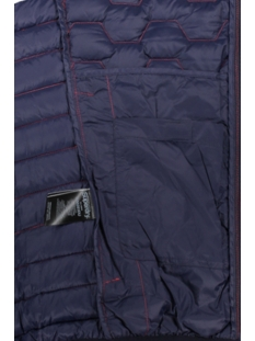 hex mix down jacket m50203du superdry jas true red