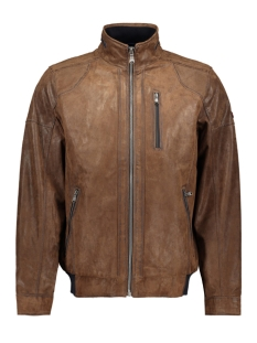 DNR Leren jas LEATHER JACK 42726 396 46