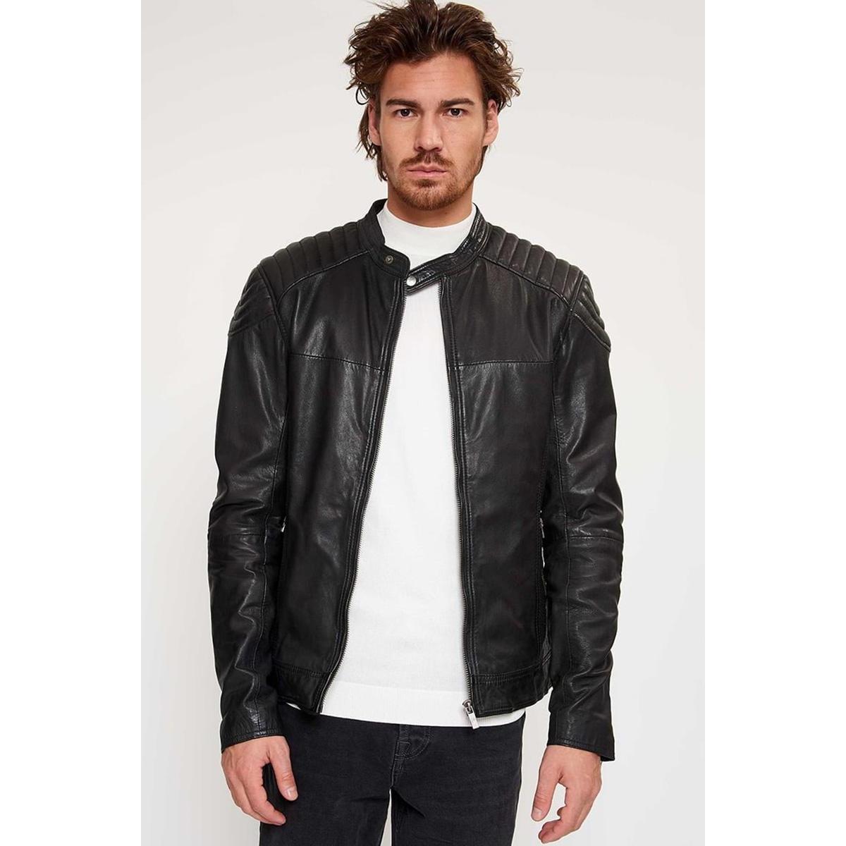 biker 919 100002001 goosecraft leren jas black
