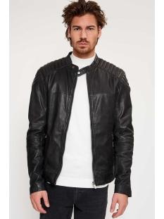 Goosecraft Leren jas BIKER 919 100002001 BLACK