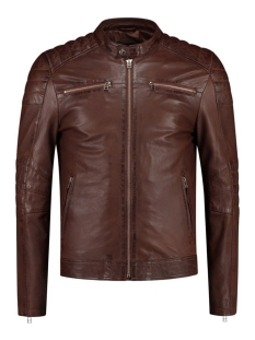 Goosecraft Leren jas GC JACKET965 102012011 SHEEP CALIFORNIA RODEO BROWN