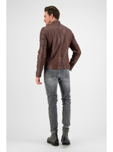 gc jacket965 102012011 goosecraft leren jas sheep california rodeo brown