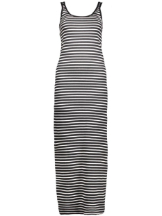 Vero Moda Jurk Nanna Ancle Dress Noos 10108209 2 black stripe