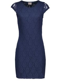 Vero Moda Jurk VMLilly Lace Short Dress 10149582 Black Iris