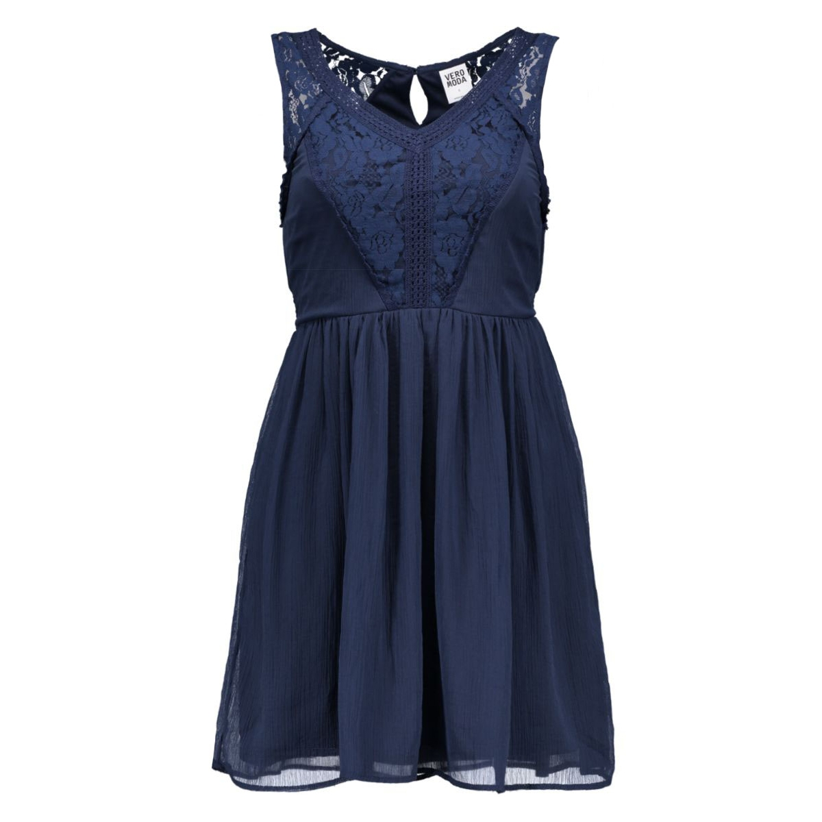 vmfreja mini dress 10149617 vero moda jurk black iris