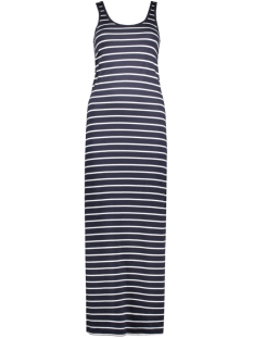 onlabbie stripe sl long oneck dress 15112078 only jurk night sky