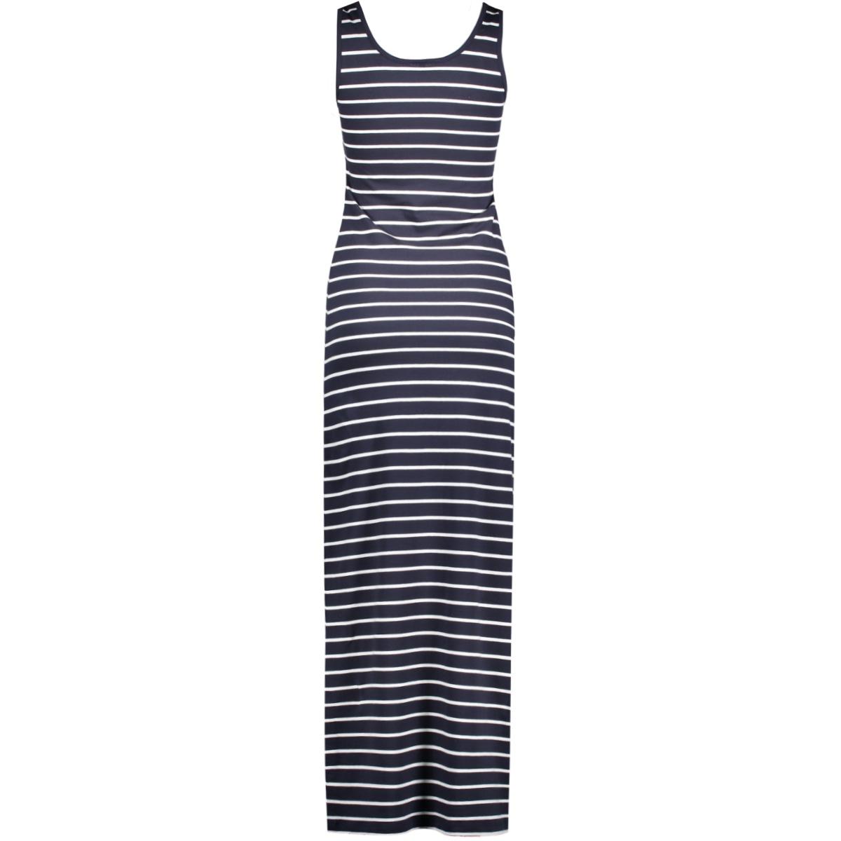 onlabbie stripe sl long oneck dress 15112078 only jurk night sky